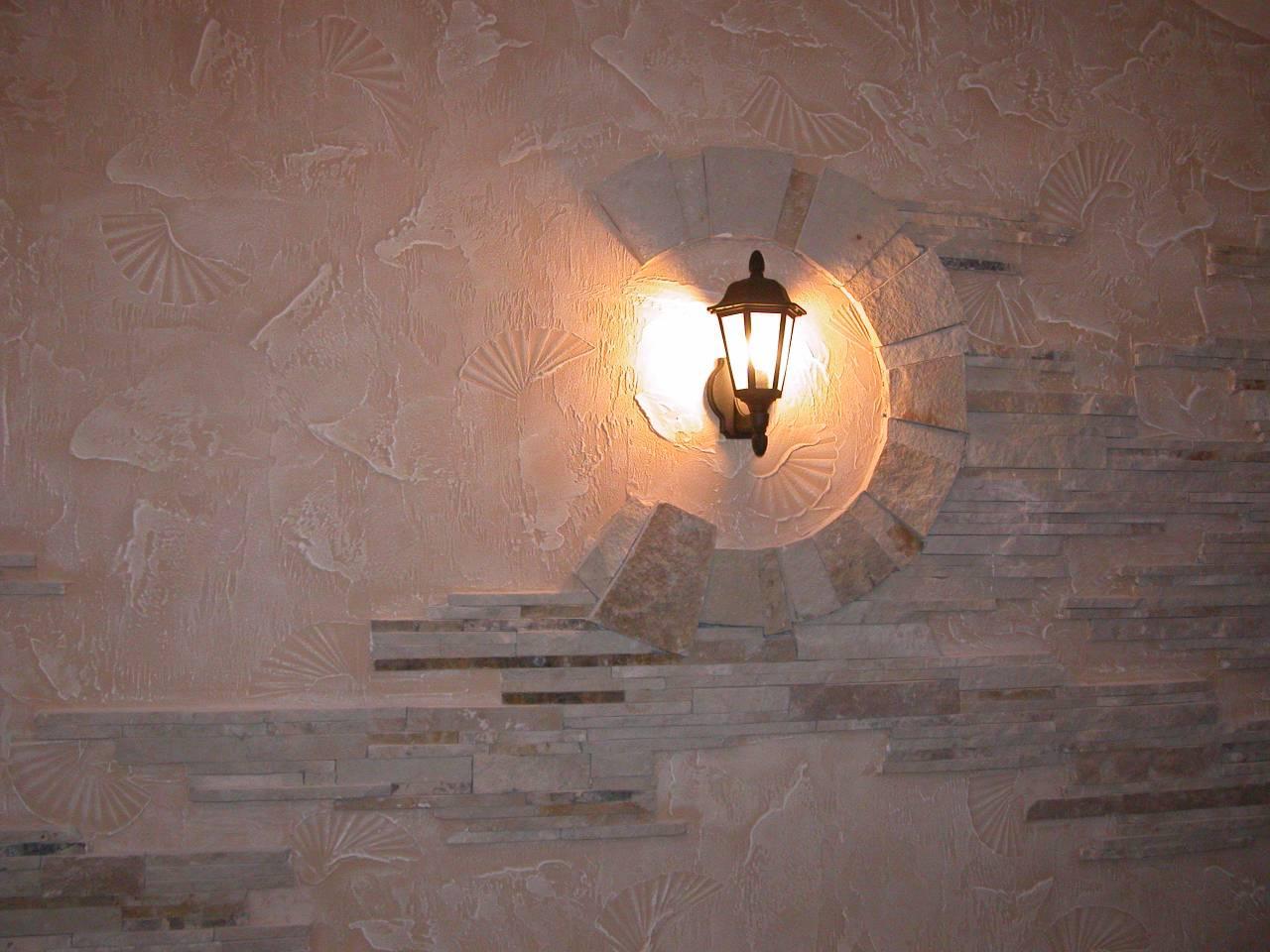 Как сделать рельефные стены фото